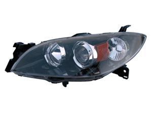 Eagle Eyes 04-08 MAZDA 3 4D HEADLIGHT P/L#: MA2518108 OE#: BN8P-51-0L0C Driver Side MZ220-A001L
