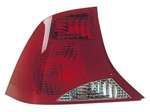 Eagle Eyes 03-04 FORD FOCUS TAIL LIGHT P/L#: FO2800198 OE#: 2S4Z-13405-AB Driver Side FR298-U100L