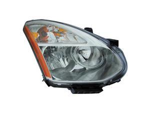 Eagle Eyes 08-11 NISSAN ROGUE HEADLIGHT(HID WITHOUT HID KITS) DS671-B001R Passenger Side