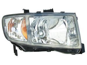 Eagle Eyes 06-08 HONDA RIDGELINE HEADLIGHT P/L#: HO2503128 OE#: 33101-SJC-A02 Passenger Side HD473-A101R