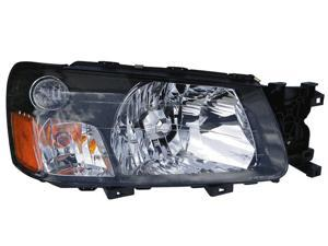 Eagle Eyes 03-04 SUBARU FORESTER HEADLIGHT P/L#: SU2503111 OE#: 84001-SA020 Passenger Side SR032-B001R