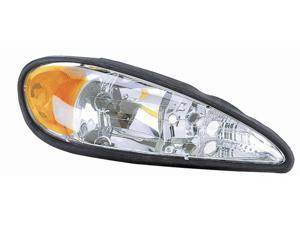 Eagle Eyes 99-05 PONTIAC GRAND AM HEADLIGHT P/L#: GM2503196 OE#: 22672208 Passenger Side GM229-B001R