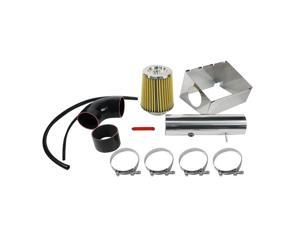 Pilot 06-07 Jeep Commander 5.7L Polished Air Stainless Steel Intake kit with Air Box Cover 75571