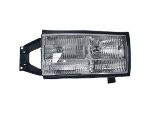 Collison Lamp 94-96 Cadillac DeVille Headlight Assembly Front Right 20-5169-00