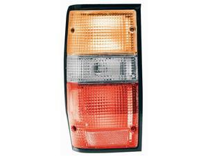 Collison Lamp 87-96 Mitsubishi Mighty Max 88-93 Dodge Ram 50 Tail Light Lens Right 11-1546-02