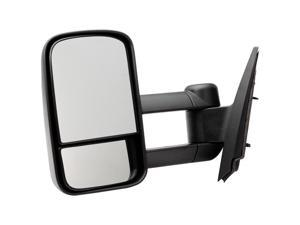 Pilot Manual Mirror Left Black Textured CVE69410DL