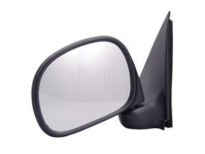 Pilot Manual Mirror Left Black Textured 3030212