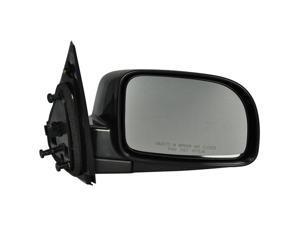 Pilot 07-08 Hyundai Santa Fe 10-10 Hyundai Santa Fe Power Heated Mirror Right Black Smooth HY9194100R