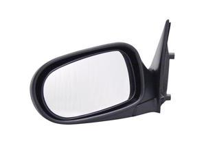 Pilot 93-97 Nissan Altima Power Non Heated Mirror Left Black Smooth 5700032