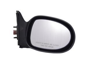 Pilot 00-01 Nissan Altima Power Non Heated Mirror Right Black Smooth 5700231