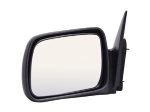 Pilot 93-95 Jeep Grand Cherokee Limited, Grand Wagoneer Model Power Heated Mirror Left Black Smooth 4120232