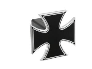 "Defenderworx Iron Cross - Black - 2"" Billet Hitch Cover Black Ea 61062"