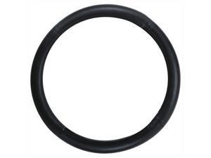 Pilot SW-101 Genuine Leather Steering Wheel Cover, Plain Black