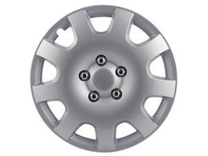 Pilot Gear Silver 9 Spoke 15' Wheel Cover WH524-15S-BX