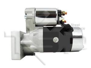 TSP SB/ BB Chevy Mini Starter Motor, Black Tilton Style  JM7001BK