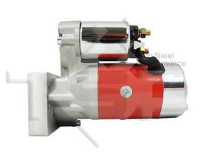 SB/ BB Chevy Mini Starter Motor, Red Tilton Style