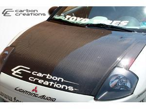 Carbon Creations 2000-2005 Mitsubishi Eclipse OEM Hood 100029