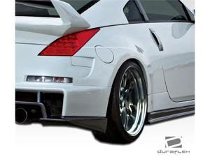 2003-2009 Nissan 350Z Duraflex AM-S Wide Body Rear Fender Flares 107229