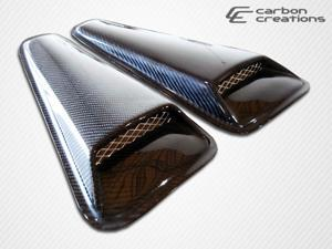 Carbon Creations 2005-2012 Ford Mustang Racer Window Scoop 103807