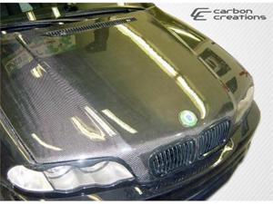 Carbon Creations 1999-2005 BMW 3 Series E46 4DR OEM Hood 102590