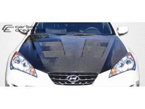 Carbon Creations 2010-2012 Hyundai Genesis 2DR Hot Wheels Hood 105838
