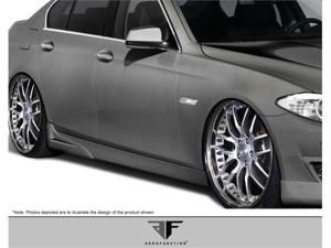 2011-2012 BMW 5 Series F10 AF-1 Side Skirt Add-Ons (PUR-RIM) 107937