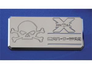 "T-REX  ""Man-O-War"" Series - Body Side Badges - 3 Pc - Chrome CHROME 6800032"
