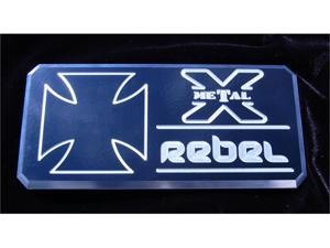 "T-REX  ""Rebel"" Series - Body Side Badges - 3 Pc - Black/ Machine BLACK/MACH 6900033"