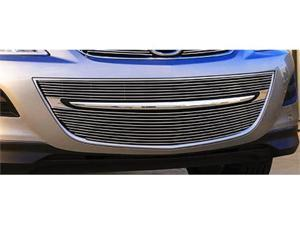 T-REX 2010-2011 Mazda CX9 Bumper Billet Grille Insert - 4 Pc (Includes polished end caps) POLISHED 25639