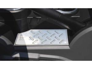 T-REX 2007-2010 Jeep Wrangler T1 Series Interior Center Console Plate - below hand brake MACHINED 11481
