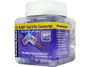 SCP 100 EZ-RJ45 CAT5E Crimp Plugs EZ-45
