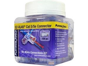 SCP 100 EZ-RJ45 CAT5E Crimp Plugs EZ-45