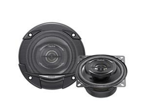 Clarion SRG1022R G Series Coaxial Speaker System - 4 in.&#59; 180W Max&#59; 30W Rms&#59; 1 in. Metallized Pei Balance
