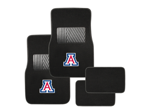 Pilot Automotive Collegiate Floor Mat Arizona 4 Piece Set FM-917
