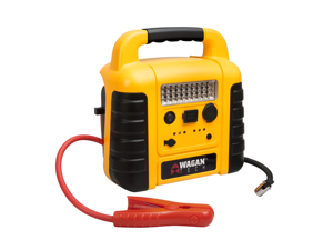 Wagan 600 Amp Battery Jumper w/Air Compressor 2509