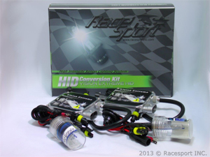 Vision Extreme H10-8K-VE 8000K HID Conversion Kit w/ Single Beam Bulbs & Slim AC Ballasts (European Blue)
