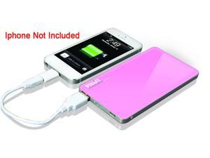 Pilot Pink 4600 Powerbank with Micro USB in for Charging with USB out for Supplying Power CA-9000P