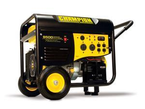 Champion Power Equipment 7500/9500 Watt Rv/Heavy Duty Electric Start Portable Gas-Powered Generator  50 Amp  Carb Compliant ...