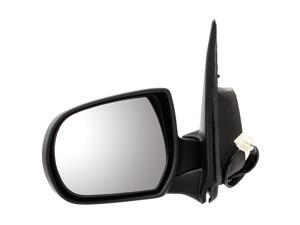 Pilot 05-06 Mazda Tribute Power Heated Mirror Left Black Smooth MZD09410CL
