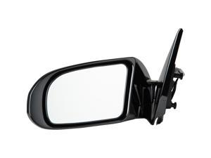 Pilot 09-10 Nissan Maxima 3.5 S Model w/o Premium Package Power Non Heated Mirror Left Black Smooth NS3594100L