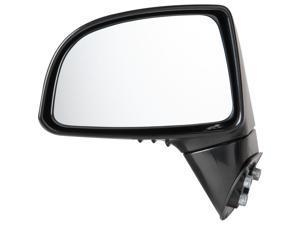 Pilot 07-10 Kia Rondo Power Non Heated Mirror Left Black Smooth KAE294100L