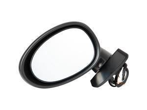 Pilot 06-10 Mazda MX-5 Miata Power Non Heated Mirror Left Black Smooth MZ0294100L