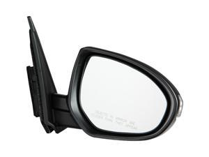 Pilot 10-10 Mazda 3 Power Heated Mirror Right Black Smooth/Textured MZ369410CR