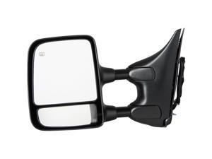 Pilot 04-05 Nissan Titan SE Model w/ Big Tow Package Extendable Power Heated Mirror Left Chrome/ Black Smooth/ Textured NST09410DL