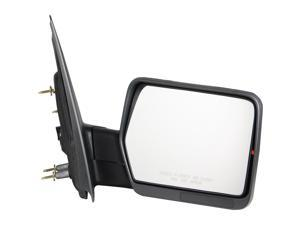 Pilot 04-08 Ford F-150 w/ Amber Reflector Power Non Heated Mirror Right Chrome/ Black Smooth/ Textured FD959410CRP