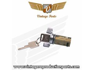 Vintage GM Style Steering Column Switch with 2 Keys VPASTCOLSW