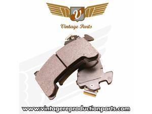 Vintage Parts USA 77568 RapidStop High Performance Ceramic Brake Pads Front Axle Set for Mustang II