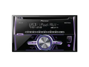 Pioneer FH-x500UI Double-DIN In-dash CD Receiver With LCD Display, Android Media Access