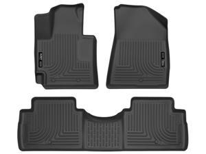 Husky Liners Weatherbeater Series Front & 2nd Seat Floor Liners (Footwell Coverage) 99611