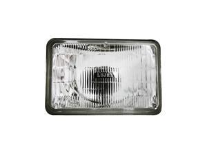 IPCW CWC-7004 Conversion Headlight 4 X 6 In. Rectangular Plain